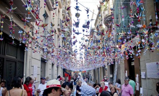фестиваль - La Fiesta de Gracia